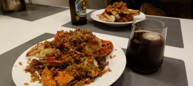 夜市的味道 — 避风塘炒蟹