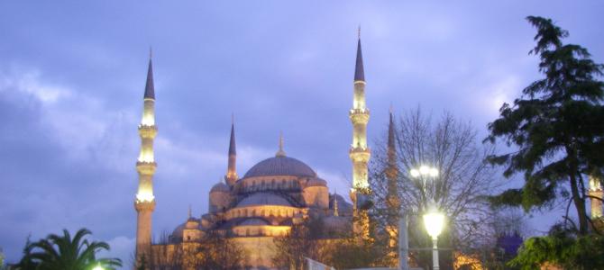 寂寞的圣诞节 — 伊斯坦布尔